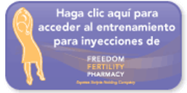 fertility injection training spanish